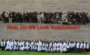 I cribbed this picture of Howard University med school students from the internet.